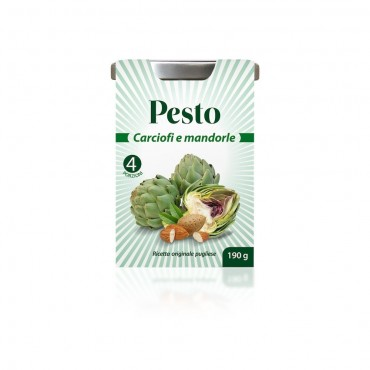 Gran Pesto Carciofi e Mandorle - 190gr