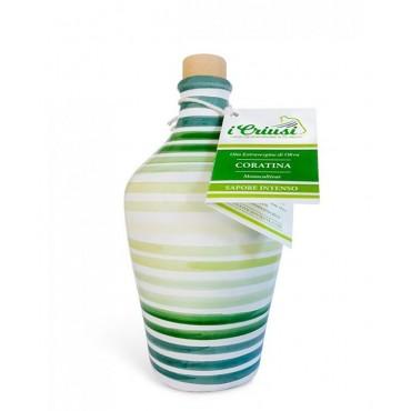 Coratina - Orcio con Olio Extravergine di Oliva 100% Italiano - 500ml