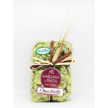 Orecchiette Pugliesi alle Cime di Rapa - Spiga - Gargano&Pasta - 500gr
