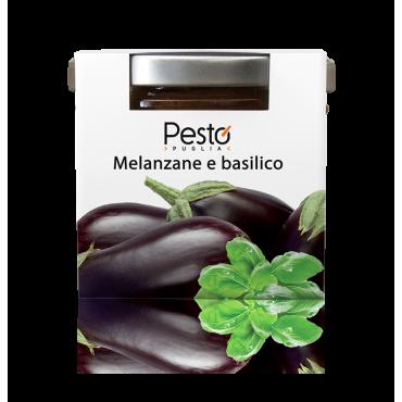 Pesto di Melanzane e Basilico - Pesto Puglia - 100gr