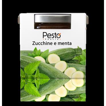 Pesto di Zucchine e Menta - Pesto Puglia - 100gr