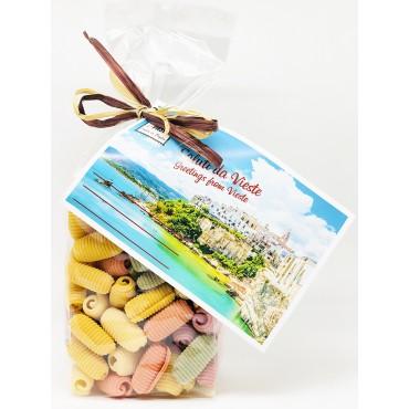Paguri mix 6 Sapori - Edizione Speciale Cartolina - Gargano&Pasta - 500gr