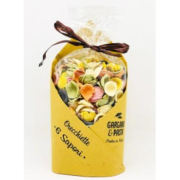 Orecchiette Pugliesi 6 Sapori - Edizione Speciale - Gargano&Pasta - 500gr