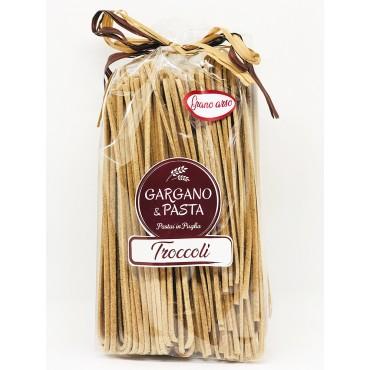 Troccoli Pugliesi Grano Arso - Spiga - Gargano&Pasta - 500gr