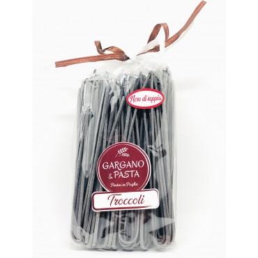 Troccoli Pugliesi Nero di Seppia - Spiga - Gargano&Pasta - 500gr