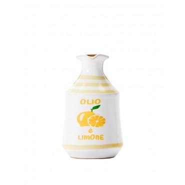 Orcetto in Ceramica con Olio Aromatico al Limone - Lamantea - 100ml