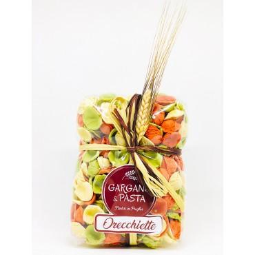 Orecchiette Pugliesi Tricolore - Spiga - Gargano&Pasta - 500gr