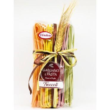 Troccoli Pugliesi Verdure - Spiga - Gargano&Pasta - 500gr