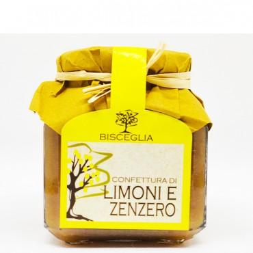 Confettura di Limoni e Zenzero - Bisceglia - 340gr