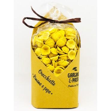 Orecchiette Pugliesi Limone e Pepe - Spiga - Gargano&Pasta - 500gr