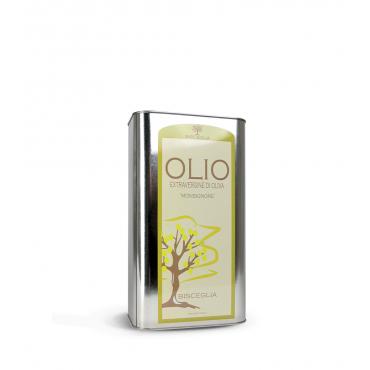 Monsignore - Olio Extravergine di Oliva 100% Italiano - Bisceglia - 1litro